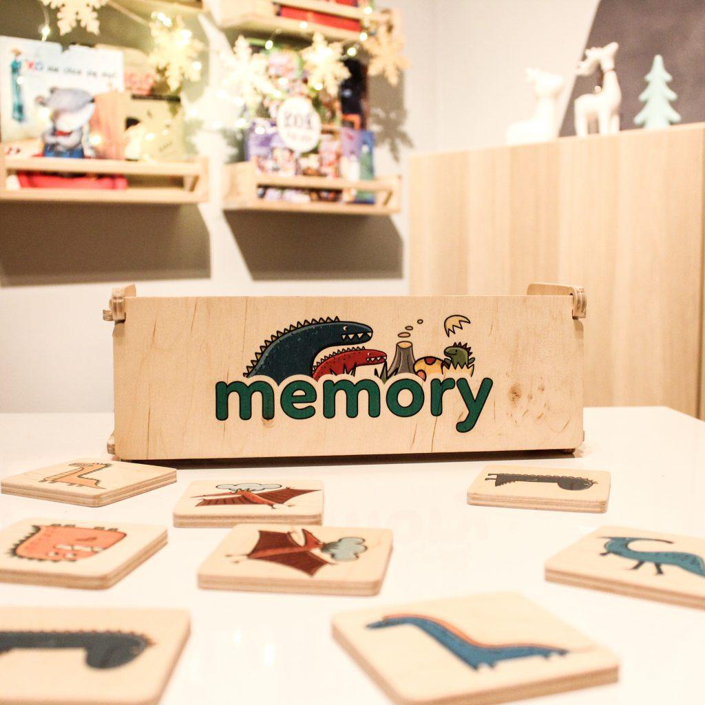 memory drewniane