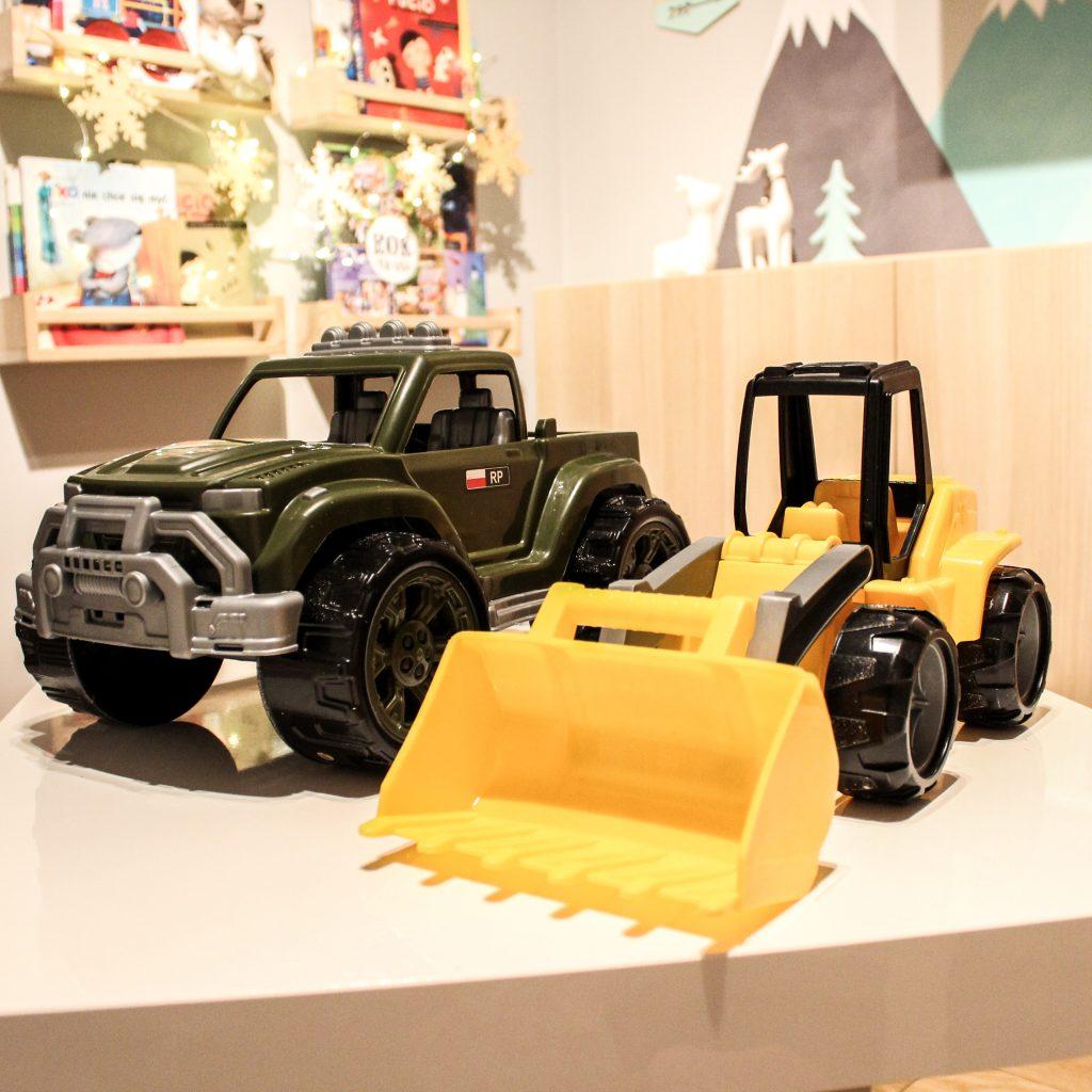 pojazdy zabawki